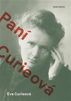 Obálka titulu Paní Curieová
