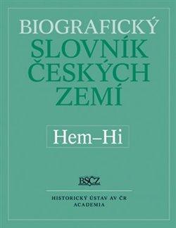 Obálka titulu Biografický slovník českých zemí (Hem-Hi) 24.díl