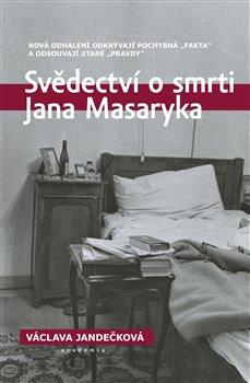 Obálka titulu Svědectví o smrti Jana Masaryka