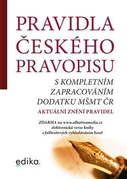 Obálka titulu Pravidla českého pravopisu