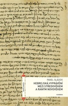 Obálka titulu Hebrejské vyprávění mezi středověkem a raným novověkem