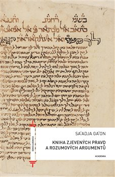 Gaon Saadja – Kniha zjevených pravd a rozumových argumentů