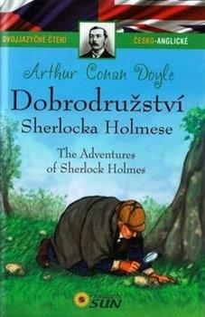 Obálka titulu Dobrodružství Sherlocka Holmese (Dvojjazyčné čtení česko-anglické )