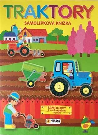 TRAKTORY-SAMOLEPKOVÁ KNÍŽKA
