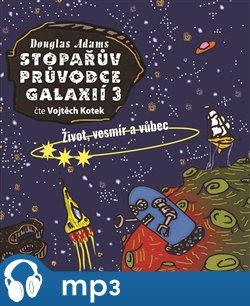 Obálka titulu Stopařův průvodce Galaxií 3.