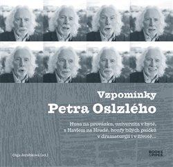 Obálka titulu Vzpomínky Petra Oslzlého