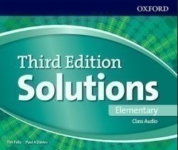 Obálka titulu Maturita Solutions 3rd Edition Elementary Class Audio CDs