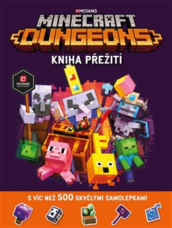 Obálka titulu Minecraft Dungeons - Kniha přežití se samolepkami