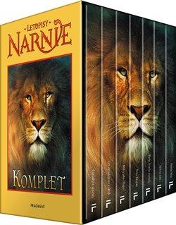 Obálka titulu NARNIE – komplet 1.-7.díl – box