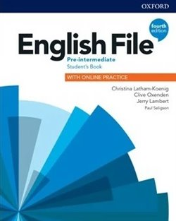 Obálka titulu English File Fourth Edition Pre-Intermediate Student's Book with Student Resource Centre Pack