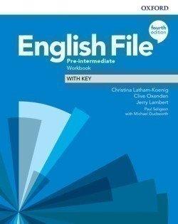 Obálka titulu English File Fourth Edition Pre-Intermediate Workbook with Answer Key
