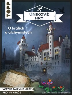 Obálka titulu Únikové hry - O králích a alchymistech
