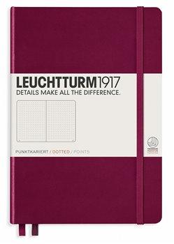 Obálka titulu Zápisník Leuchtturm, tečkovaný