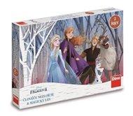 Ledové království: Člověče nezlob se a magický les - dětská hra (Frozen)