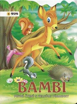 Obálka titulu První čtení vel. písmena - BAMBI