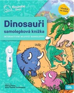 Kouzelné čtení - Samolepková knížka Dinosauři
