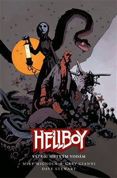 Obálka titulu Hellboy - Vstříc mrtvým vodám