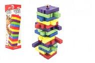 Hra věž dřevěná