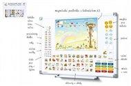 Kalendář magnetický - Školka