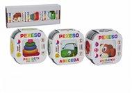 Pexeso 3ks - Abeceda, Zvířátka, Pro děti