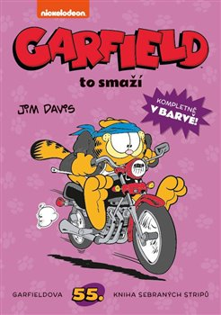 Obálka titulu Garfield to smaží č. 55