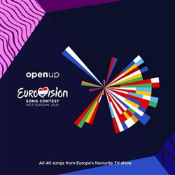 Obálka titulu Eurovision Song Contest 2021