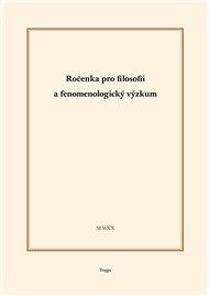 Ročenka pro filosofii a fenomenologický výzkum 2020