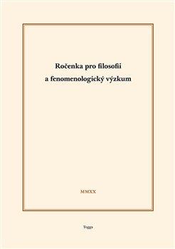Obálka titulu Ročenka pro filosofii a fenomenologický výzkum 2020