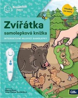Obálka titulu Kouzelné čtení - Samolepková knížka Zvířátka