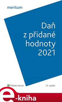 Obálka titulu Meritum Daň z přidané hodnoty 2021