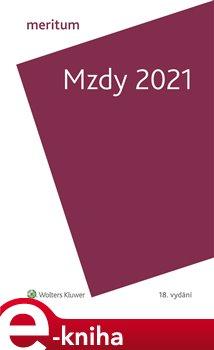 Obálka titulu Meritum Mzdy 2021