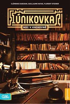 Obálka titulu Kniha Únikovka - Noc v knihovně