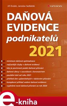 Obálka titulu Daňová evidence podnikatelů 2021