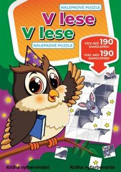 Obálka titulu V lese - nálepkové puzzle / V lese - Nálepkové puzzle