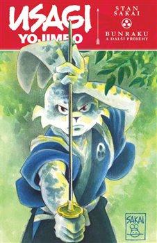 Obálka titulu Usagi Yojimbo: Bunraku