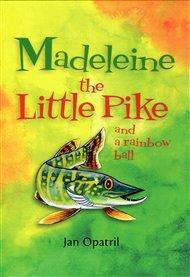 Madeleine the Little Pike and a rainbow ball