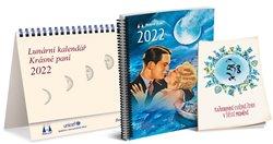 Obálka titulu Lunární kalendář Krásné paní s publikací 2022