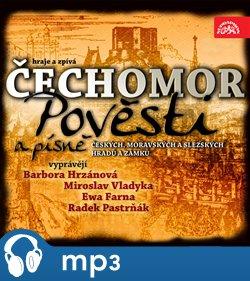 Obálka titulu Pověsti moravských, českých a slezských hradů Komplet 3 CD