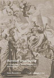 Barokní frontispisy v tiskařské bohemikální produkci