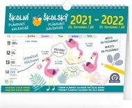 Kalendář 2022 školní plánovací: s háčkem