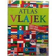 Atlas vlajek s více než 200 samolepkami
