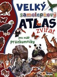 Velký samolepkový atlas zvířat pro malé