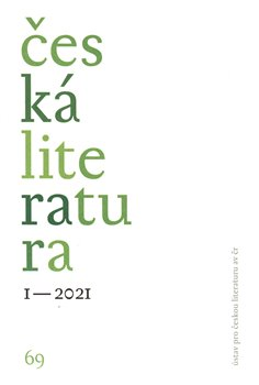 Česká literatura 1/2021
