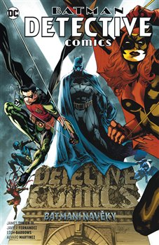 Obálka titulu Batman Detective Comics 7: Batmeni navěky