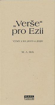 """Obálka titulu """"Verše"""" pro Ezii"""