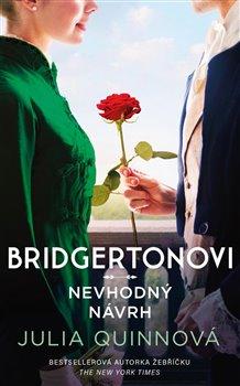 Obálka titulu Bridgertonovi: Nevhodný návrh