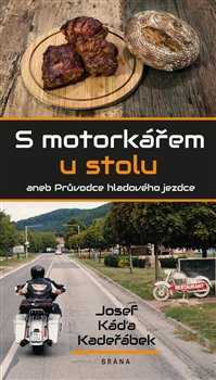 Obálka titulu S motorkářem u stolu