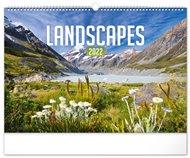 Nástěnný kalendář Krajiny 2022, 48 x 33 cm