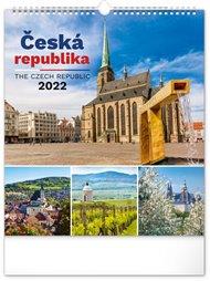 Nástěnný kalendář Česká republika 2022, 30 x 34 cm
