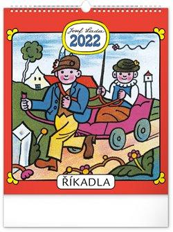 Nástěnný kalendář Josef Lada - Říkadla 2022